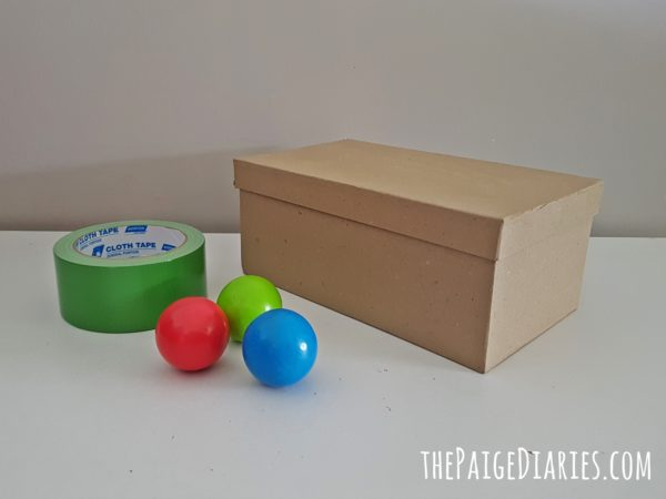 Diy Object Permanence Box The Paige Diaries