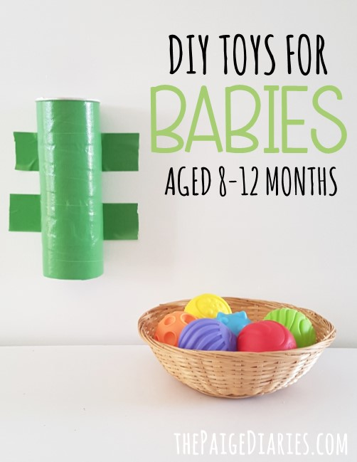 Toys For 8 Months : Diy toys for month olds the paige diaries